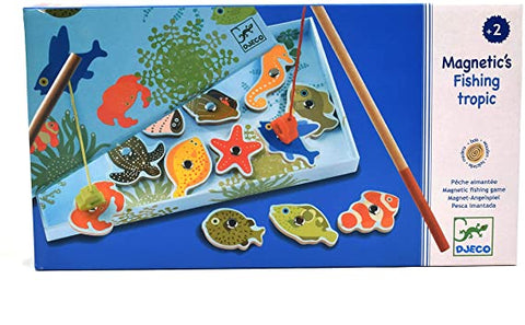 Magnetic Fishing Game - Tropical