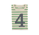 Gooseberry & Cream Breton Striped Number 4 T Shirt