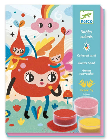 Deliciously Cute coloured sands craft kit