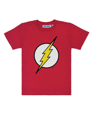 The Flash Logo Slub T-Shirt