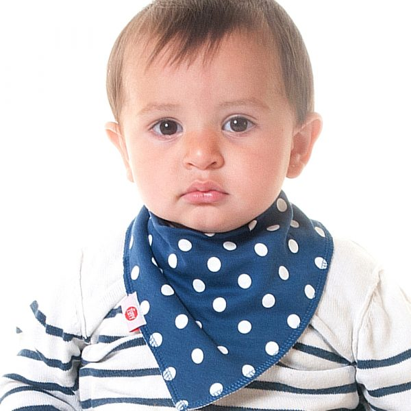 Bandana Dribble Bib Just Blues 4pk