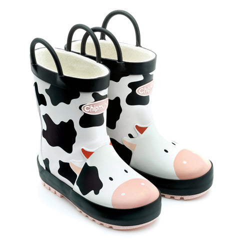 Gertie Cow Print Wellies