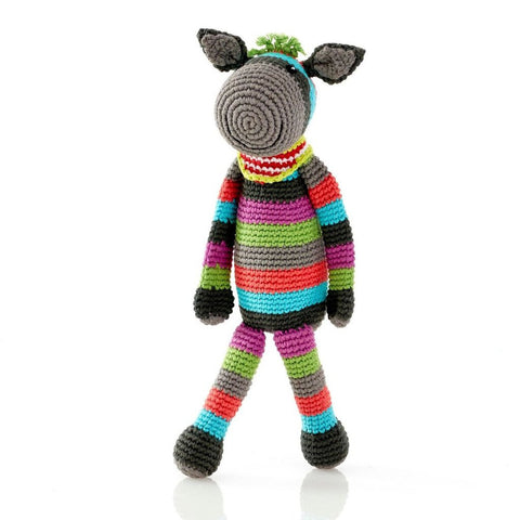 Crochet Donkey Rattle