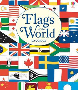 Flags of the World to colour