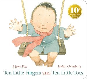 Ten Little Fingers and Ten Little Toes (10th Anniversary Board Book)