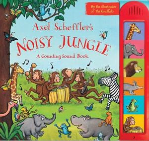Noisy Jungle: A Counting Sound Book