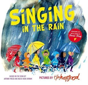Singing in the Rain (Book & CD)
