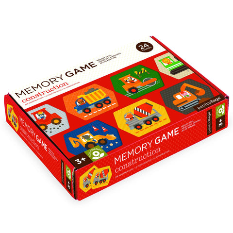 MEMORY GAME CONSTRUCTION