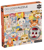Animal Festival 100 Piece Decoder Puzzle