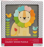 Chunky Lion - wood tray puzzle