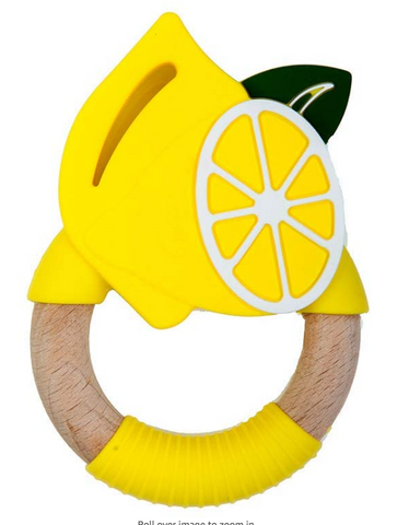 Lemon Superfoods Teething Toy