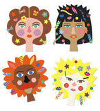 Create with Stickers - Hairdresser