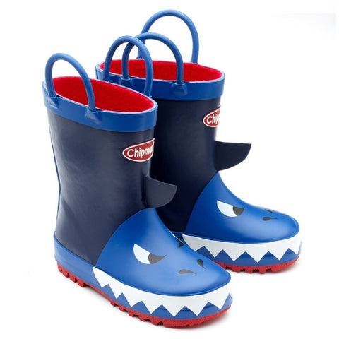 Jaws Navy Wellies