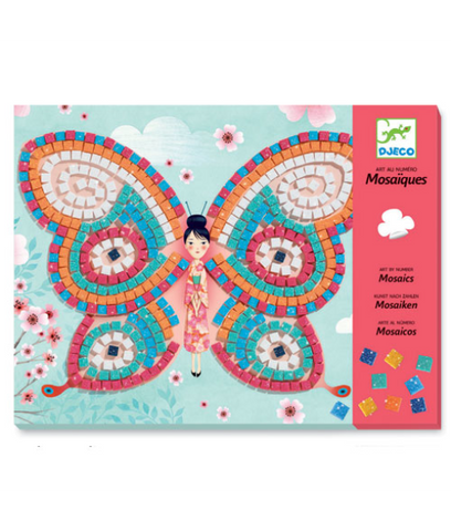 Art by Number Mosaic Butterfly Set