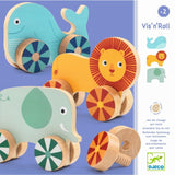 Vis n' Roll - Assembly Toy to Roll