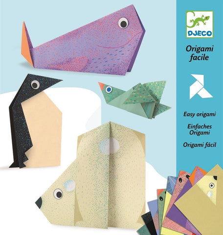 Polar Animals Origami