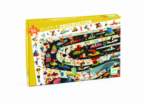 Observation Puzzle - Car Rally