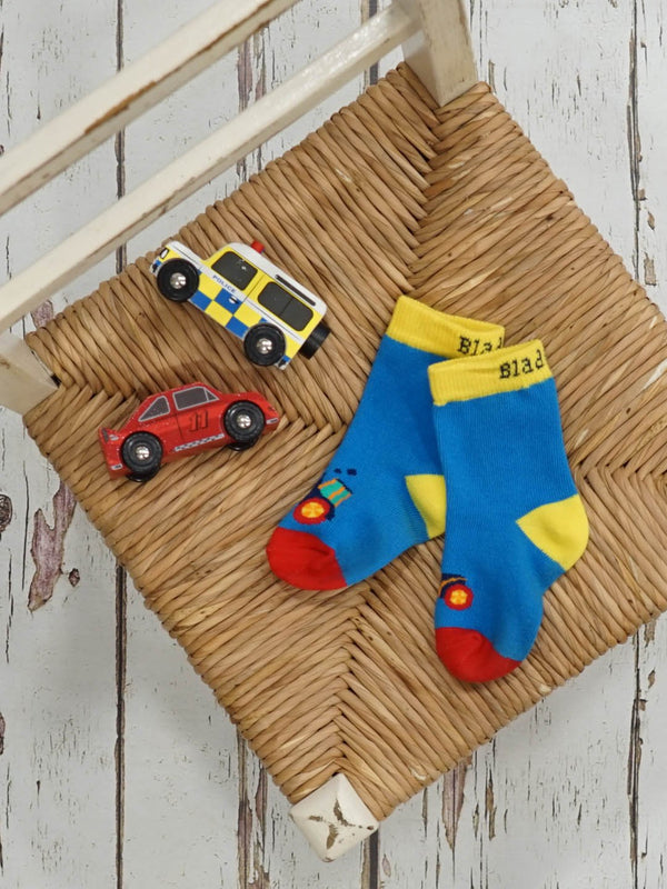 Farmyard Tractor Socks