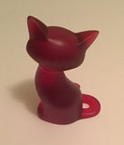 LARGE MYSTERY RUBY RED KITTY GEM