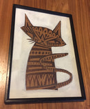Lupa Cat original drawing