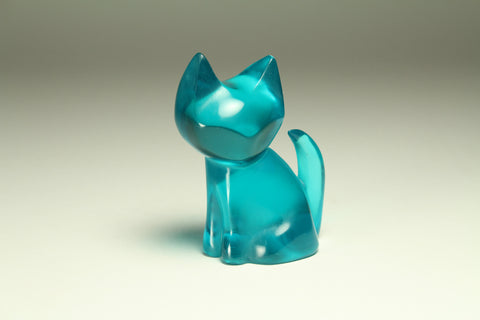 TURQUOISE MINX KITTY GEM