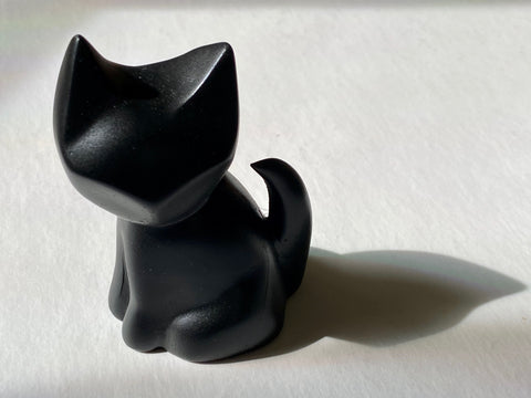 BLACK MINX KITTY GEM
