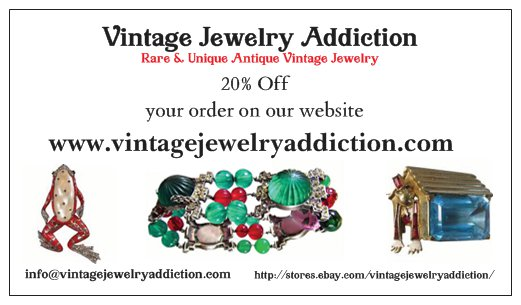 1e841e9bddfb4 ALL Larger Runway Statement Pieces – Vintage Jewelry Addiction