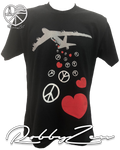 B52 Bombing for Peace & Love (Limited Edition Autographed Tee) by RobbyZEN