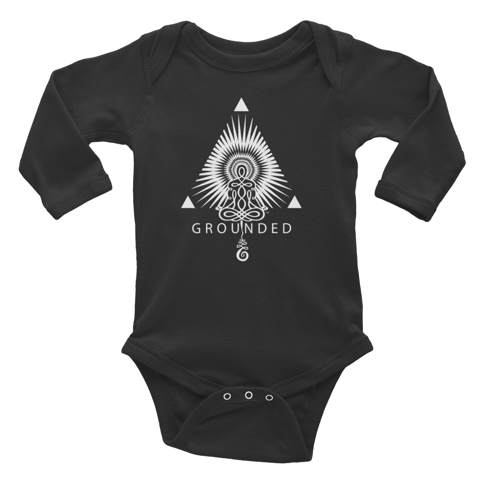 GROUNDED • RobbyZEN - Long Sleeve Onesie