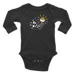 WHALE SUN BE BLESSED • RobbyZEN - Long Sleeve Onesie