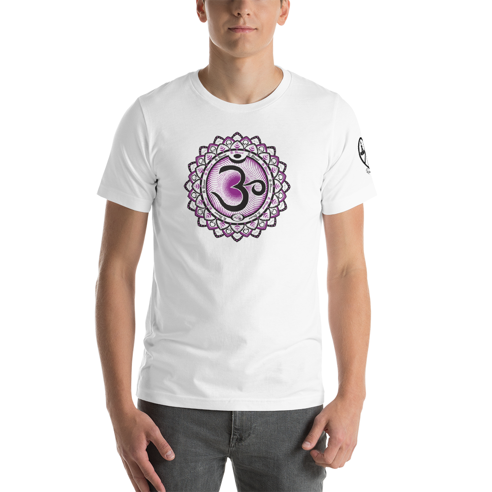 Om Crown Chakra • Good Vibes - Unisex T-Shirt • RobbyZEN