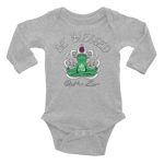 BE BLESSED BUDDHA FROGGY • RobbyZEN - Long Sleeve Onesie