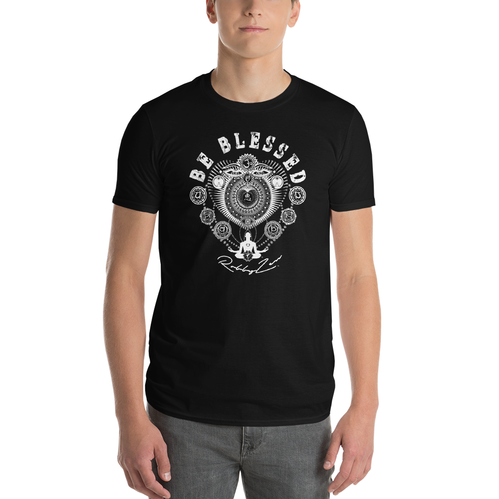 BE BLESSED LOVE ENERGY - RobbyZEN - Short-Sleeve T-Shirt