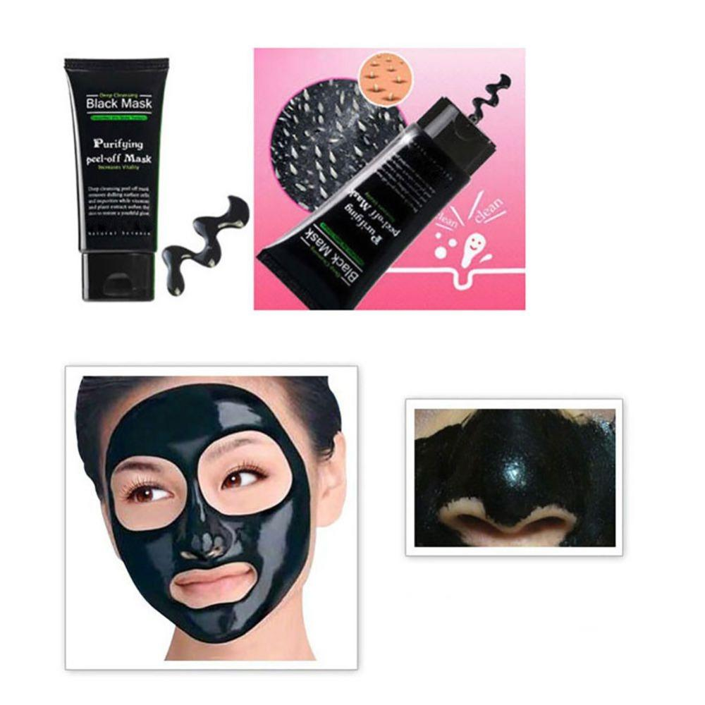 Blackhead Remove Facial Masks Deep Cleansing Purifying Peel Off - creative watcher