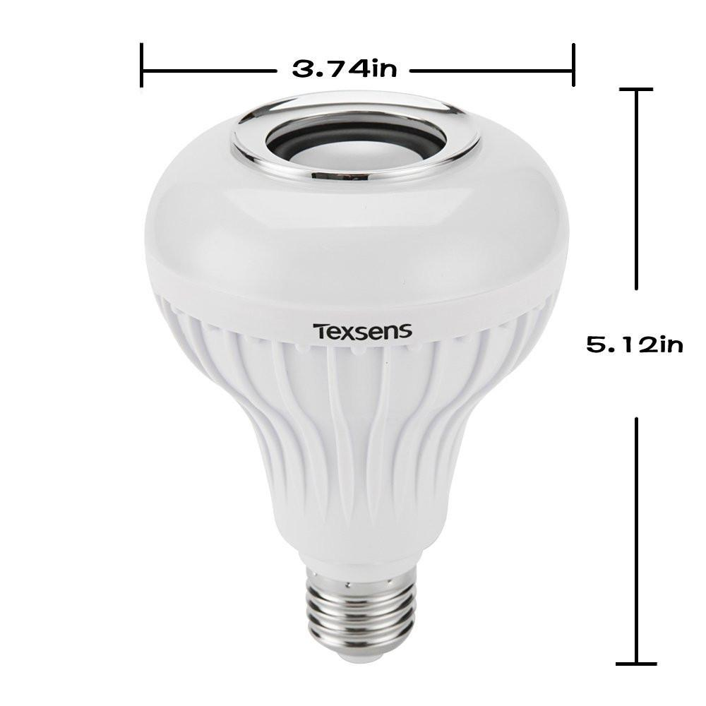 Smart Bulb With Bluetooth Speaker - creative watcher