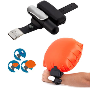 Safety Inflatable Wrist Air Bag - creative watcher
