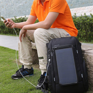 Solar Powered Backpack - creative watcher