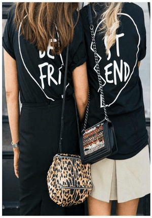 Best Friends Matching T-Shirt - creative watcher