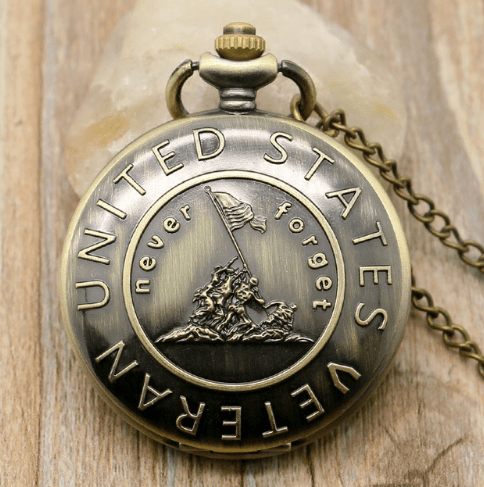 Never Forget Pocket Watch