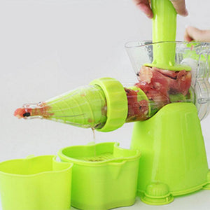 Manual Vegetable And Fruit Juicer - creative watcher
