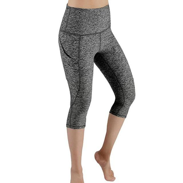 Out Pocket Yoga Pants Tummy Control 4-Way Stretch - creative watcher