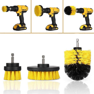Power Scrubber Drill Brush Set - creative watcher