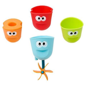 The bath squad smiling cups - creative watcher