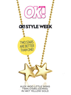 Little Signs Twin Stars:OK! Magazine