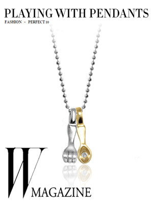 W Magazine - Playing with Pendants