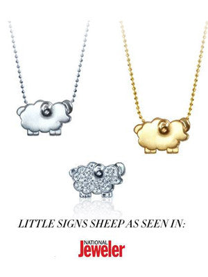 Little Signs Sheep:National Jeweler