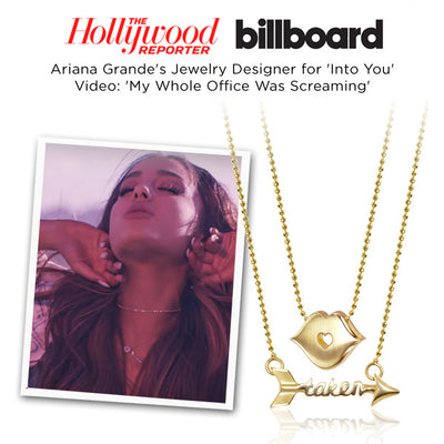 Billboard -  Ariana Grande - Little Princess Kiss and Words Taken Arrow