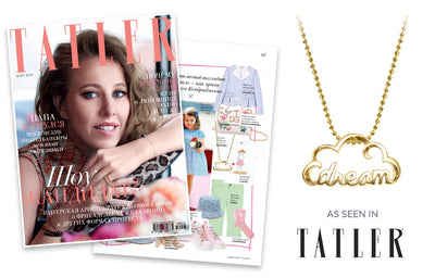 Tatler Russia - Words Dream Cloud