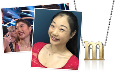 Dancing with the Stars - Mirai Nagasu wearing Little Letter M