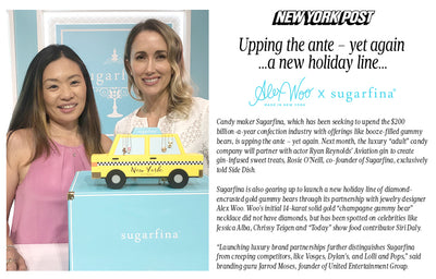 New York Post - Alex Woo x Sugarfina